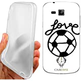 CUSTODIA COVER CASE CASEONE I LOVE FOOTBALL PER SAMSUNG GALAXY TREND PLUS S7580