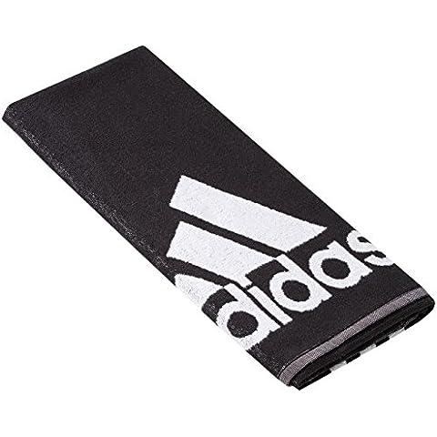 adidas Towel  - Toalla, color negro / blanco, talla S