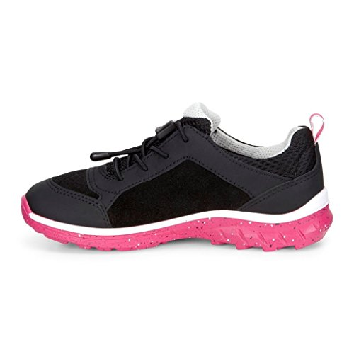 Ecco BIOM TRAIL Mädchen Sneakers Black/Black/Beetroot