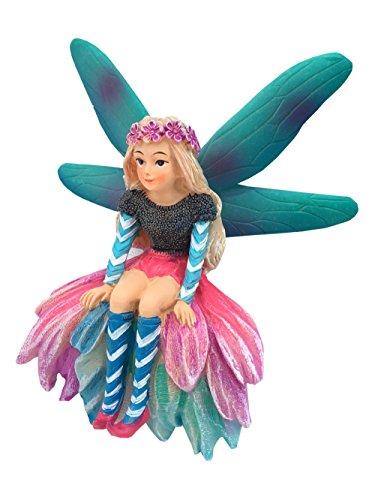 Katrina la fata da giardino una fata miniatura da aggiungere al tuo giardino delle fate e alle statuette miniatura GlitZGlam