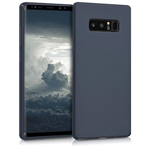 kwmobile Samsung Galaxy Note 8 DUOS Hülle - Handyhülle für Samsung Galaxy Note 8 DUOS - Handy Case in Dunkelblau matt