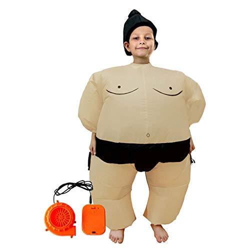 Mayoaoa Sumo Wrestler Kostüm Aufblasbarer Anzug Blow Up Outfit Cosplay Party Kleid Für Kinder Und Erwachsene