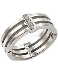 Boccia Damen-Ring Titan 5 Brillianten 0,025 0126-0148