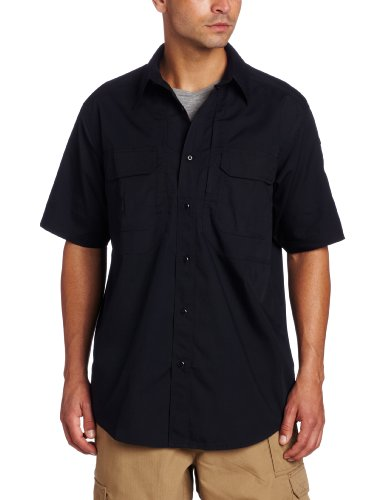 5.11 Tactical Series Taclite Pro Shirt Short Sleeve Chemise Homme, Dark Navy, FR : L (Taille Fabricant : L)