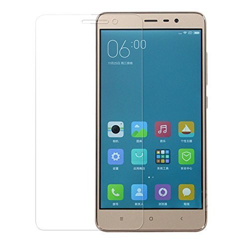 Dashmesh Shopping Tempered glass screen protector For Redmi Note 3