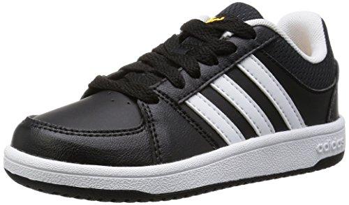 adidas Hoops VS K, Chaussures de Sport Garçon Noir - Negro (Negbas / Ftwbla / Dorsol)