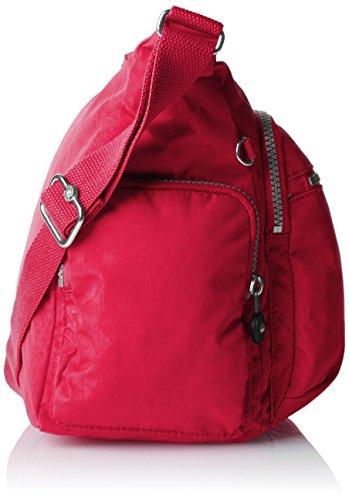 Kipling gabbie BP K22621E32 Damen Schultertaschen 36x30x19 cm Pink (flamboyant Pink)