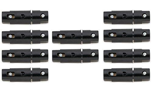 wellenshop 10x Sicherungshalter 6 12 24 Volt, 8 Ampere inklusive Sicherungen Keramiksicherung