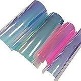 SUPVOX 4 Blätter A4 PVC Holographische Klare Film