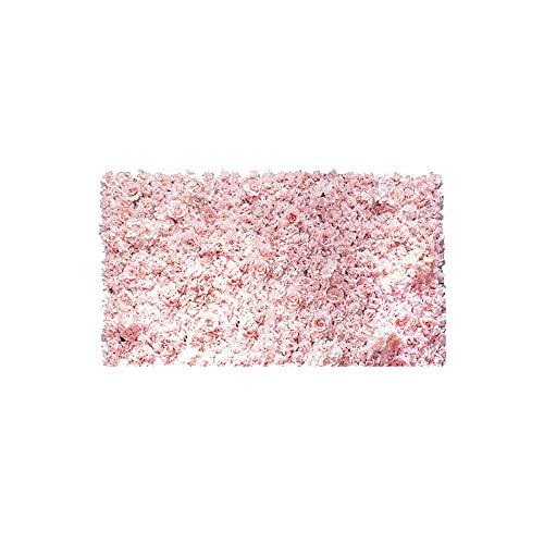 Preisvergleich Produktbild Blumenwand LVZAIXI Foto Hintergrund Geburtstag Hochzeit Kunstseiden Blume Wandpaneele Party Blumenvorhang Kinder Fotostudio (Color : F,  Size : 40x60cm)