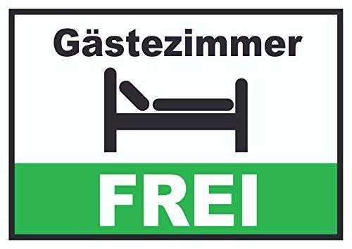 Gästezimmer FREI Schild Zimmer Frei Hotel Pension Motel A4 (210x297mm)
