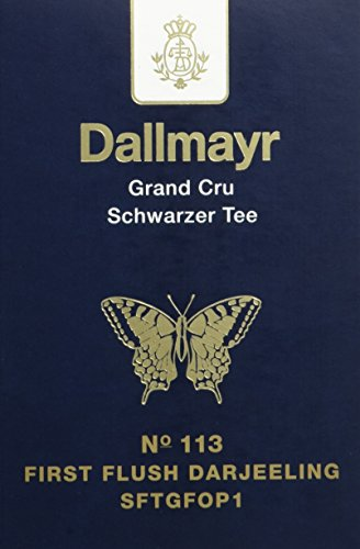 Dallmayr Grand Cru Schwarztee – Nr. 113 First Flush Darjeeling, 1er Pack (1 x 100 g)
