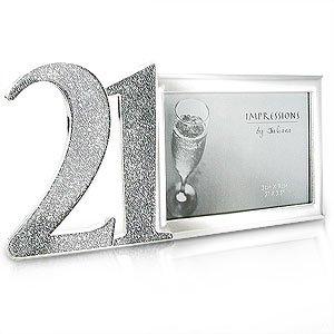 silver-glitter-21st-birthday-photo-frame