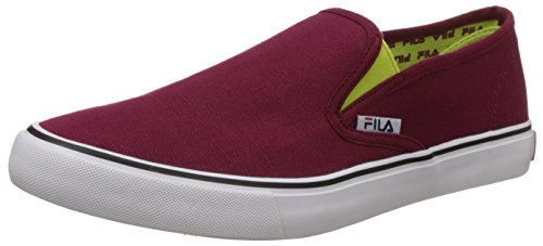 Fila Men's Relaxer Iv Sneakers, Marron and Green, 10 UK/India (44 EU)