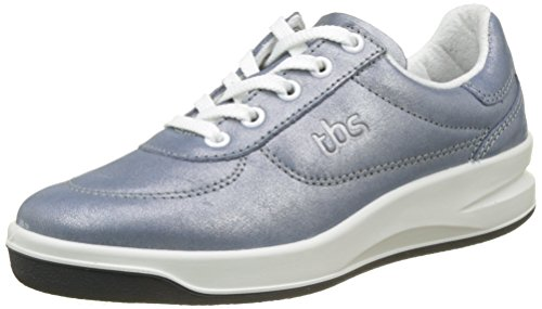 TBS Damen Brandy Multisport Indoor Schuhe Bleu (Bleu Métallisée)