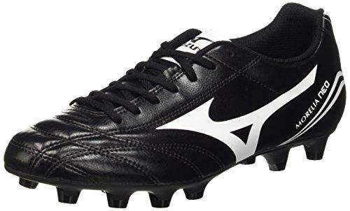 Mizuno Morelia Neo Cl Md, Scarpe da Calcio Competizione Uomo, Nero (Black/White), 43 EU