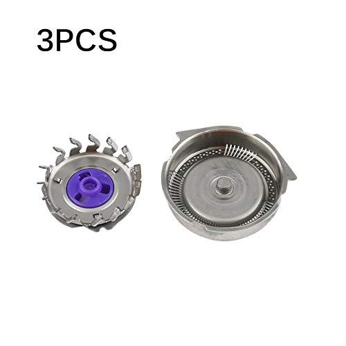 8Eninide 3PCS / Set Ersatzrasierkopf-Klingen passend für Philips Norelco Razor (Silver)