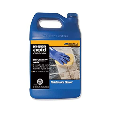 Miracle Sealants PHOS GAL SG Phosphoric Acid Cleaner, Gallon by Miracle Sealants