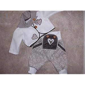 Baby-Trachtenhose gr. 62/68 mit Jäckchen und Tuch