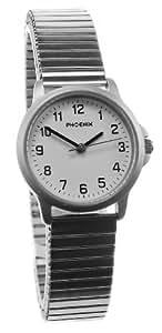 Phoenix - Femme - PX066632001 - Quartz Analogique - Cadran Blanc - Argent - Bracelet Acier Inoxydable