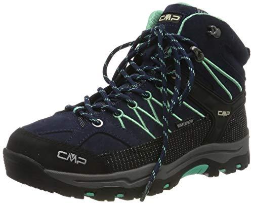 CMP Unisex-Erwachsene Rigel Mid Trekking-& Wanderstiefel, Blau (B.Blue-Aqua Mint 12nd), 40 EU