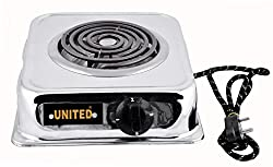 UNITED 1250-Watt With WIRE G Coil Hot Plate Induction Cooktop / Induction Cookers / Handy G Coil Cooktop