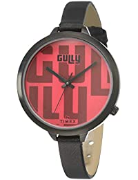 Gully by Timex Gully Analog Red Dial Women's Watch-TW013HL16