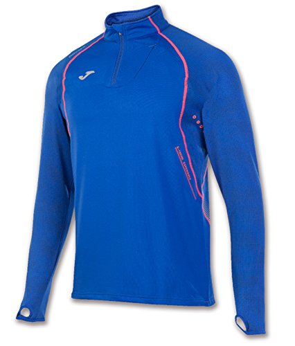 JOMA OLIMPIA FLASH SWEATSHIRT 1/2 ZIP RUNNING ROYAL FELPA Royal