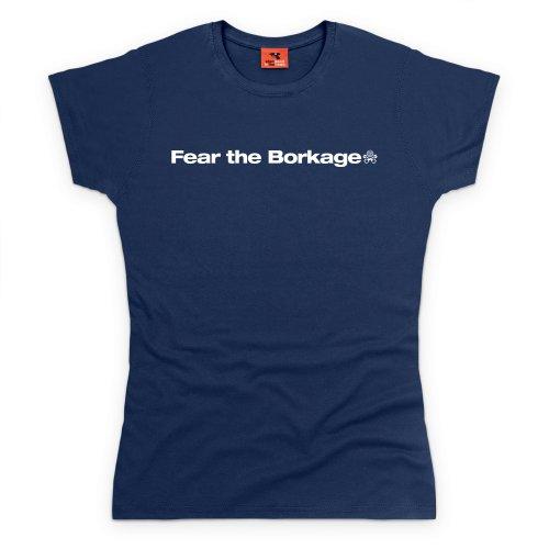 PistonHeads Borkage T-Shirt, Damen Dunkelblau