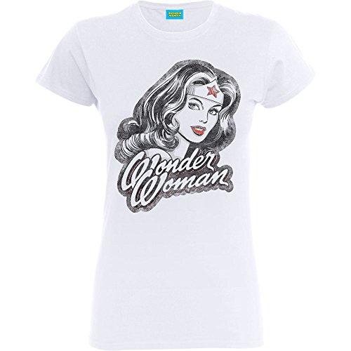 Custom 51 -  T-shirt - Stampa  - Maniche corte  - Donna White Medium