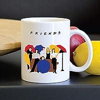 أكواب القهوة - FRIENDS TV SHOW التصميم