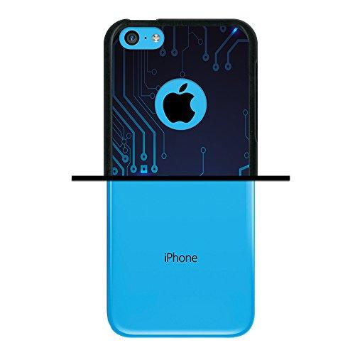 WoowCase Hülle Case für { iPhone 5C } Handy Cover Schutzhülle Schwarzer Basketballspieler Housse Gel iPhone 5C Schwarze D0042