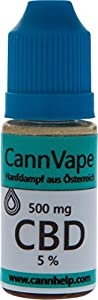 CannVape 5% E-Zigaretten Liquid 10ml 500mg CBD