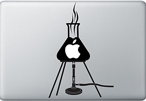 Mechero Bunsen temática idea de vinilo para macbooks, computadoras, o incluso paredes en casa. Personaliza cualquier cosa con este vinilo Ideal!