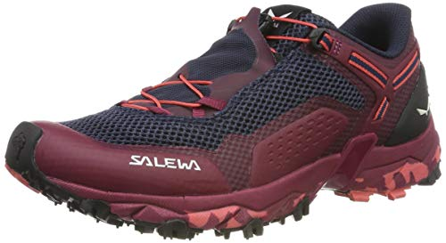 SALEWA WS Ultra Train 2, Scarpe da Trail Running Donna, Rosso (Red Plum/Punch 6897), 40 EU