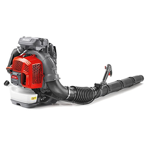 Mitox 760BPX Premium Petrol Backpack Leaf Blower, Red