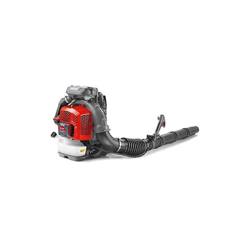 Mitox 760BPX Premium Petrol Backpack Leaf Blower, Red