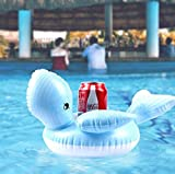GHGYUF Mini Drink Floating Swim Ring Beach Water Pool Party Toys Drink Cup Holders Inflatable Pool...