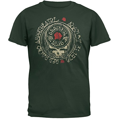 Old Glory Herren T-Shirt Grün Dunkelgrün (Herren Shirt Glory)