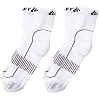 Craft Stay Cool, Juego de 2 Pares de Calcetines para Unisex Adulto, Blanco (White 2900), L (Talla Fabricante: 43-45)