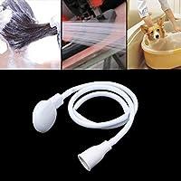Baño de soporte único Grifo spray accesorio de la manguera de conectores for Ducha Bañera del lavabo del baño mojado de estar Cocina mascotas Peluquero (Conector de grifo) XWH16-7-28-L QIANGQIANG