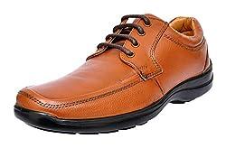 ALLEN COOPER Mens Tan Leather Derby Shoes - 9 UK