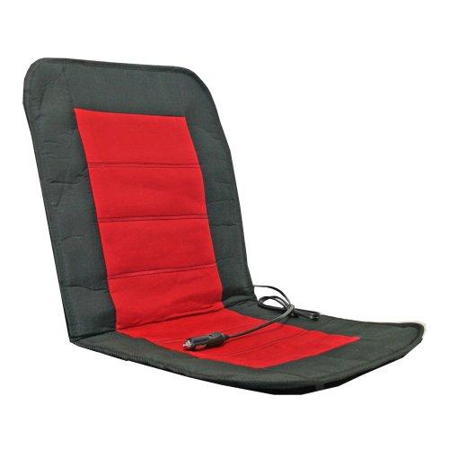 Alpin 74301 Auto-Sitzheizkissen Sport, schwarz / rot