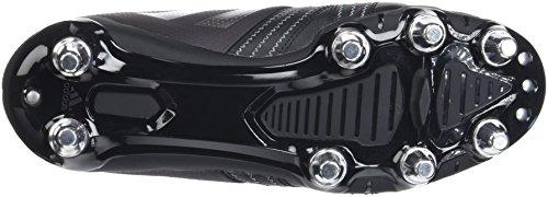 adidas Kakari Elite SG, Scarpe da Rugby Uomo Nero (Core Black/Night Met /Utility Black )