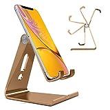 Generic N4U Online® Verstellbare, Faltbare Metallhalterung für Oppo N1 Mini