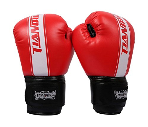 Boxen - Kickbox Glove Vollfinger-Handschuhe -MMA 3 ----- Red