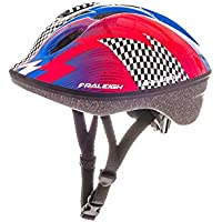 Raleigh Kids' Lil Terra Skedaddle Cycle Helmet, Multi-Colour, 48-54 cm
