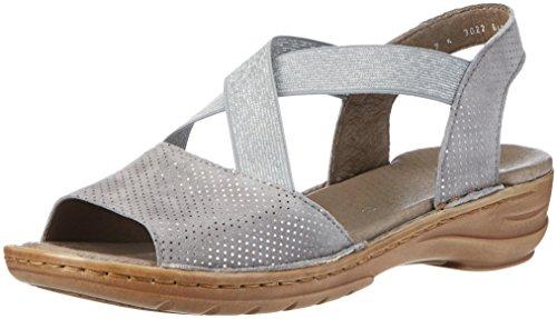 Ara Donna Hawaii sandali aperti, grigio (Grau (Rauch)), 38 EU