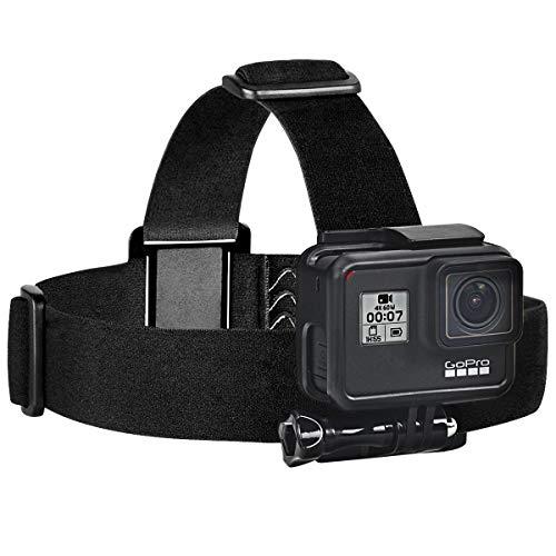 Sametop Headstrap Kopfband Halterung Kopfgurt Kompatibel mit GoPro Hero 6, 5, 4, Session, 3+, 3, 2, 1 Kameras