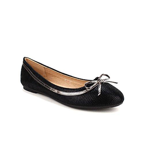 Cendriyon, Ballerine noire BELKINI MODE Chaussures Femme Noir